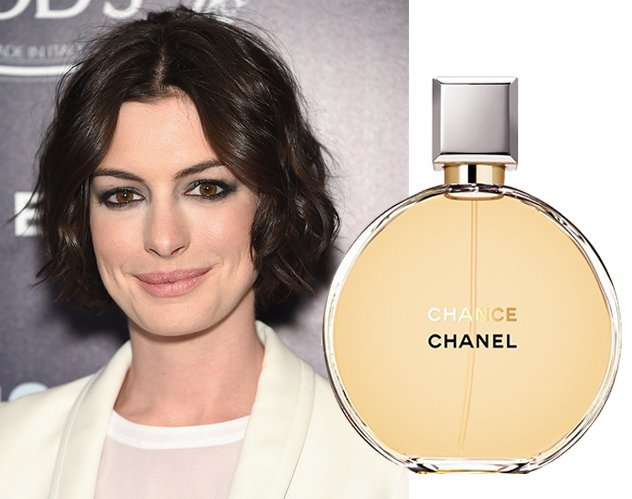 d27acf898 Anne Hathway تحبّ الرائحة المنعشة والنغمات الحمضيّة في عطر Chanel Chance