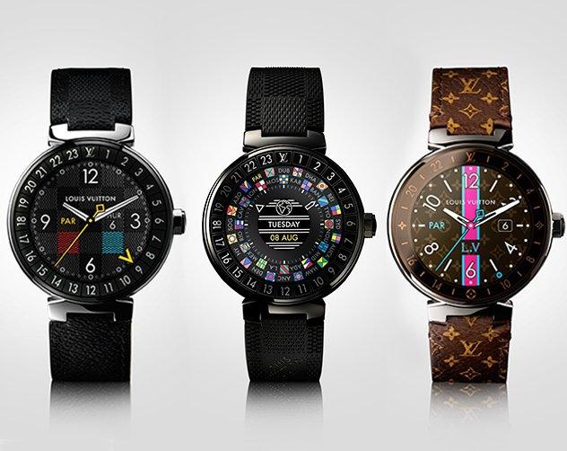 23620af779819 هي Tambour Horizon الساعة الذكيّة التي أطلقتها Louis Vuitton لتدخل بهذه  الخطوة إلى العالم الرقميّ.