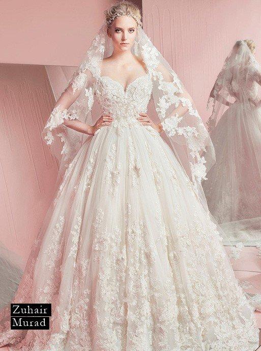 fa0deaeb3 شكل فستان الزفاف المناسب لكلّ برج