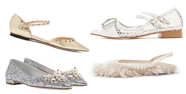 a0ff20684 أجمل الأحذية المسطّحة لكلّ مَن تبحث عن الراحة يوم زفافها البحث عن حذاء ذي  كعب عالي ليس أمراً ملزماً عليكِ في يوم زفافكِ، فإذا كنتِ تريدين الشعور  بالراحة، لا ...