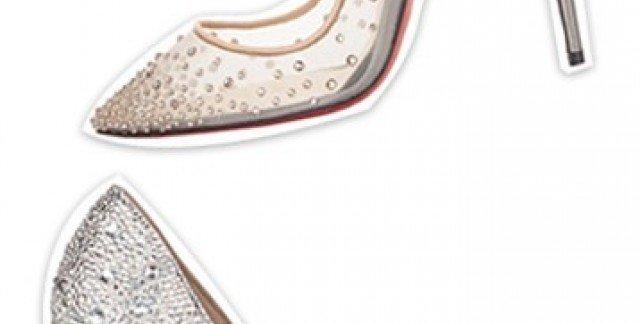 9a490aef2 الأحذية المرصّعة بالأحجار ستغنيكِ عن أيّ أكسسوار آخر يوم زفافكِ.