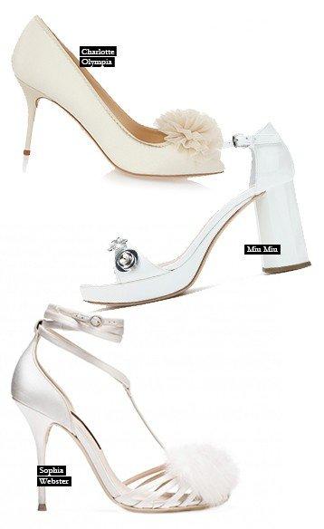 c8255d7c0 كوني عروس الموسم المرحة مع هذه الأحذية المميّزة.