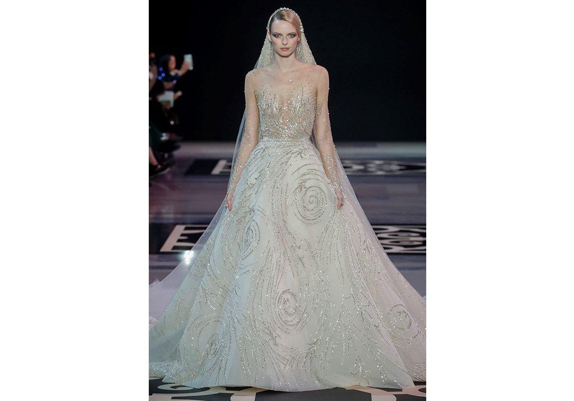 9a3bd63e9ffa7 فستان عروس من Elie Saab فستان عروس فستان فرح جورج حبيقة