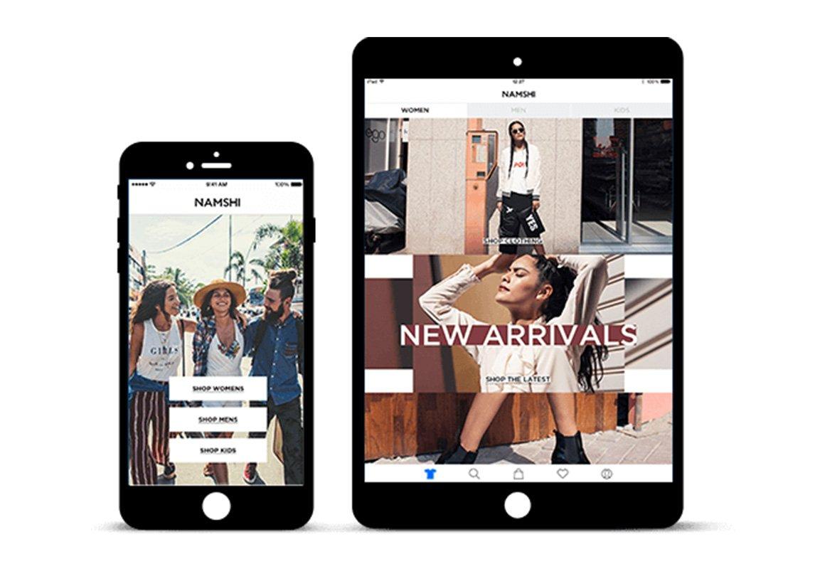 181061a0b يعتبر تطبيق نمشي الوجهة الالكترونية الأولى لتسوّق الأزياء في الممكلة  العربية السعودية. يحتوي التطبيق على مختلف أنواع الأزياء من الملابس للرجال،  النساء، ...