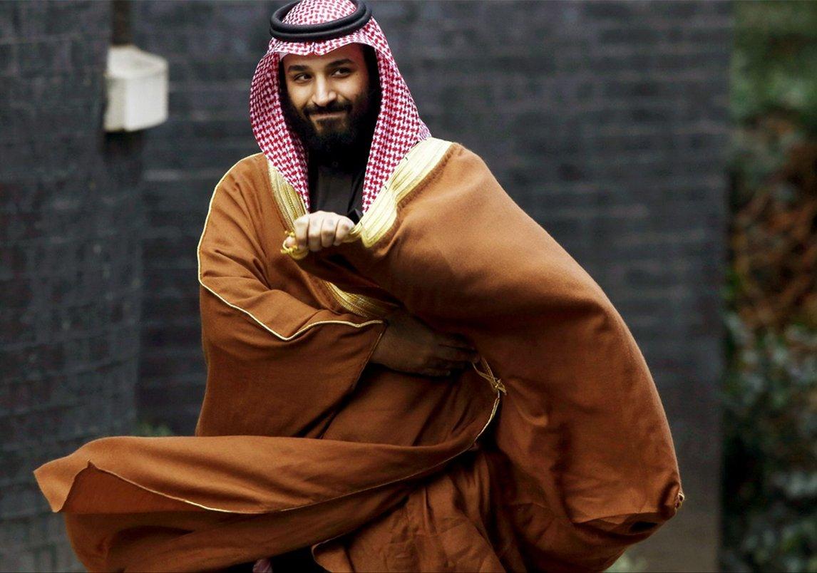 وكالة بلومبرج تختار صورة محمد بن سلمان بن عبد العزيز آل سعود ضمن
