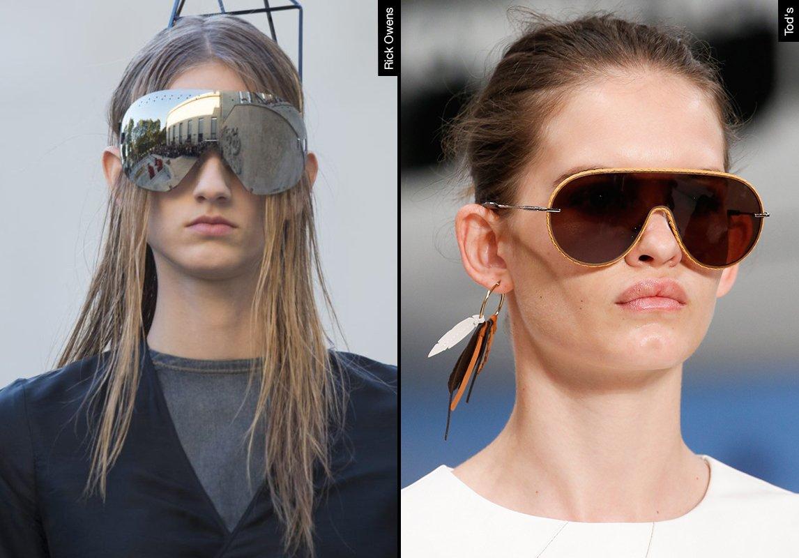 5431c5459 ... اشكال نظارات شمسية نسائية ربيع 2019 موضة ماركات النظارات tod's rick  owens