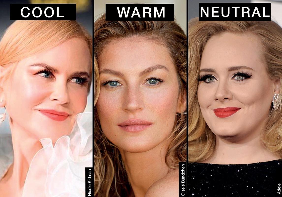 كيف تختارين المكياج المناسب لك بحسب لون بشرتك الباطني