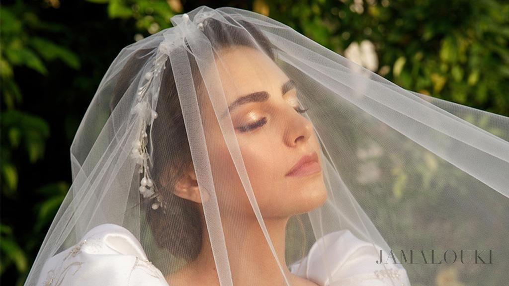 كيفية اختيار طرحة عروس بحسب شكل فستان الزفاف