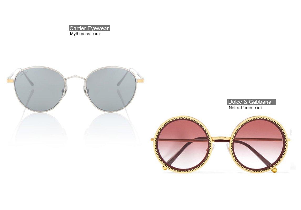 b89ae874e موديلات نظارات شمسية تناسب صاحبة الوجه على شكل قلب