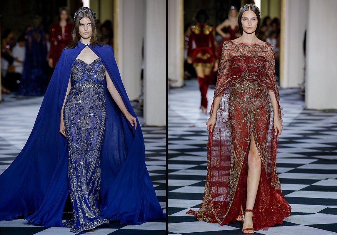 fa4ff123c1683 أجمل فساتين سهرة من مجموعات مصمّمين عرب للخياطة الراقية لخريف 2018