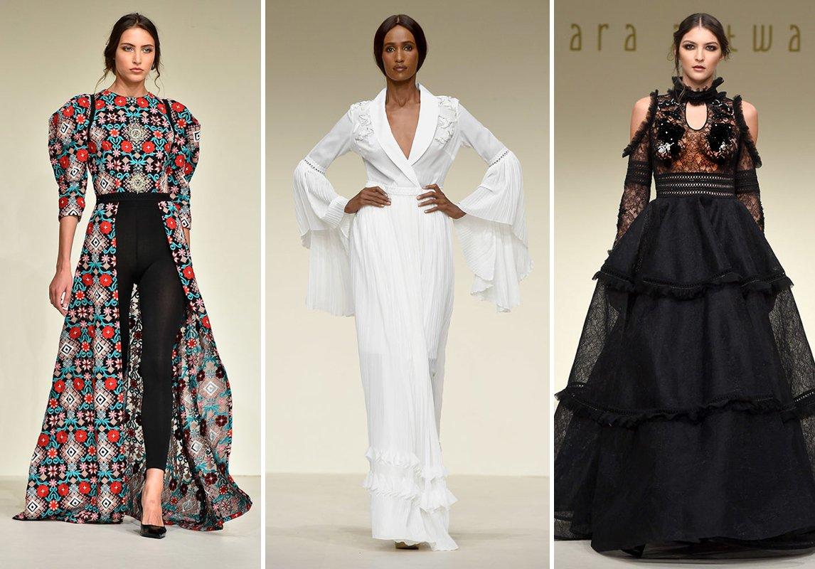 82561258fe7bc كما شاركت المصمّمة الصاعدة سارة التويم في Fashion Forward Dubai حيث قدّمت  مجموعة ربيع 2018 التي ضمّت ملابس تجمع ما بين العصريّة والأنوثة.